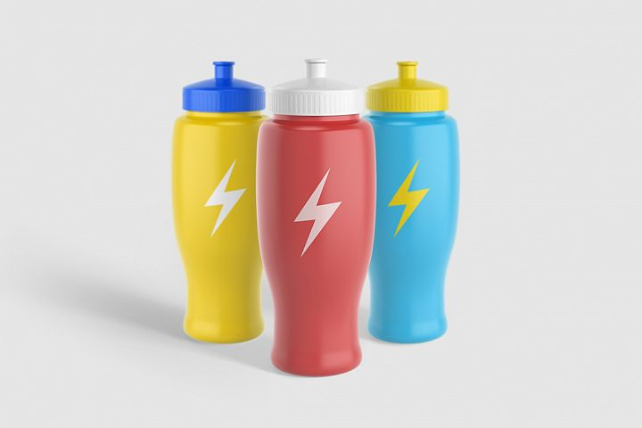 Sport Water Bottle V2 Mock-Up