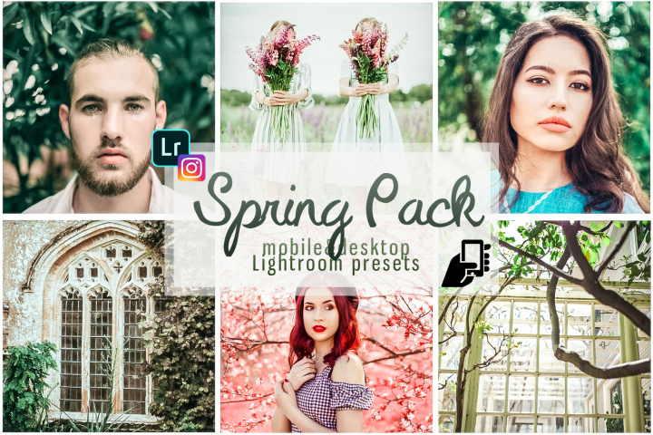 Spring presets mobile pc best presets adobe lightroom filter