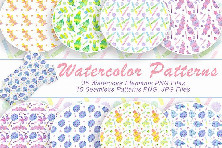 Watercolor Nursery Edition