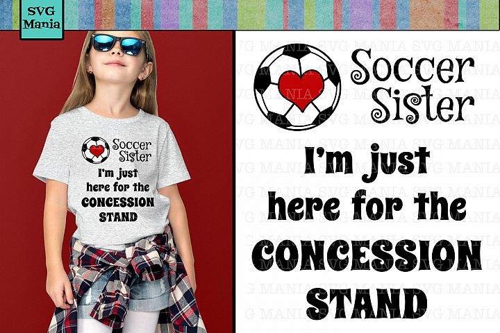 Funny Soccer Sister SVG File, Soccer Sister Shirt SVG, SVG
