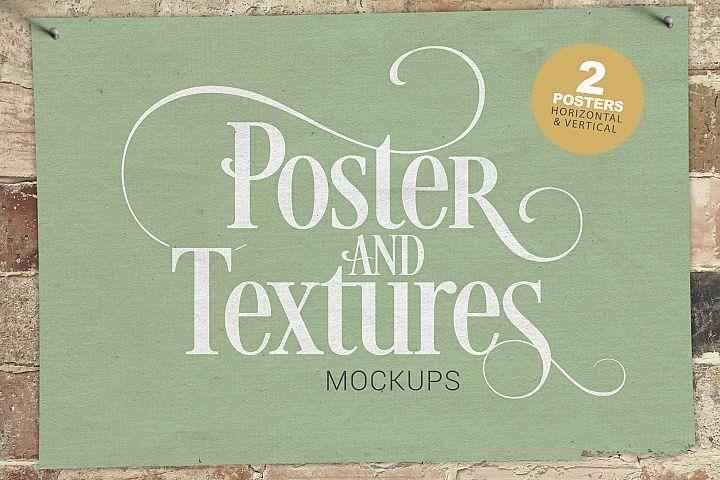 Poster & Textures Mockups