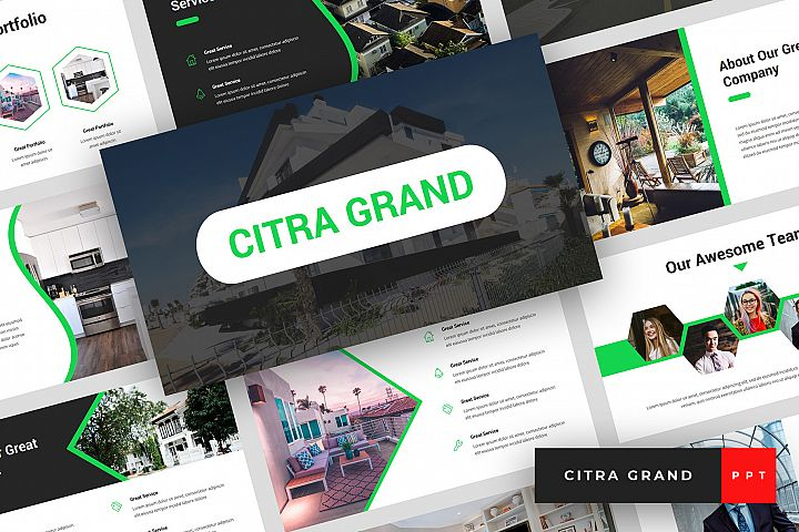 Citra Grand - Real Estate PowerPoint Template