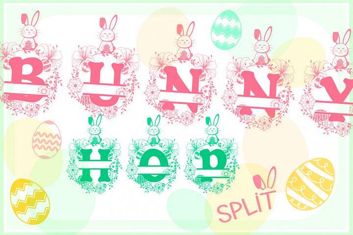 The Bunny Hop Split Font