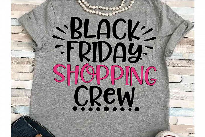 Black friday svg DXF JPEG Silhouette Cameo Cricut Shopping