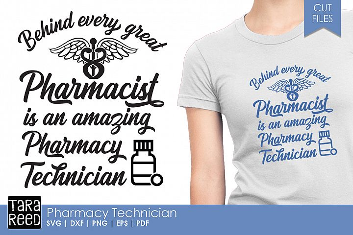 Pharmacy Technician SVG and Cut Files for Crafters