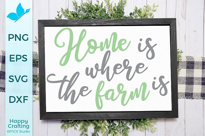 Home Is Where The Farm Is - A Pretty Country Craft File