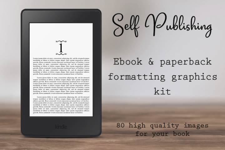 Self-Publishing Book Formatting Graphics Version 30