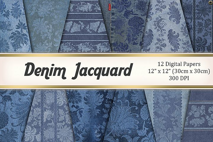 Denim Jacquard
