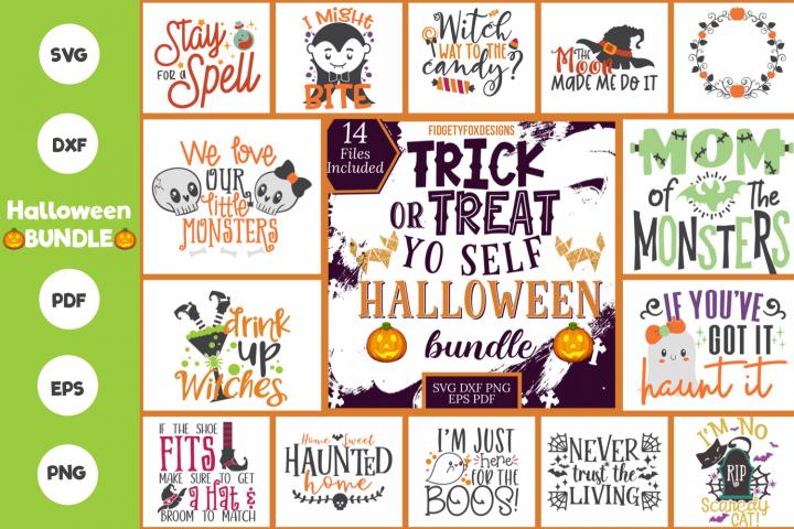 Big Halloween Svg Bundle, Dxf Eps Pdf Png Spooky Bundle
