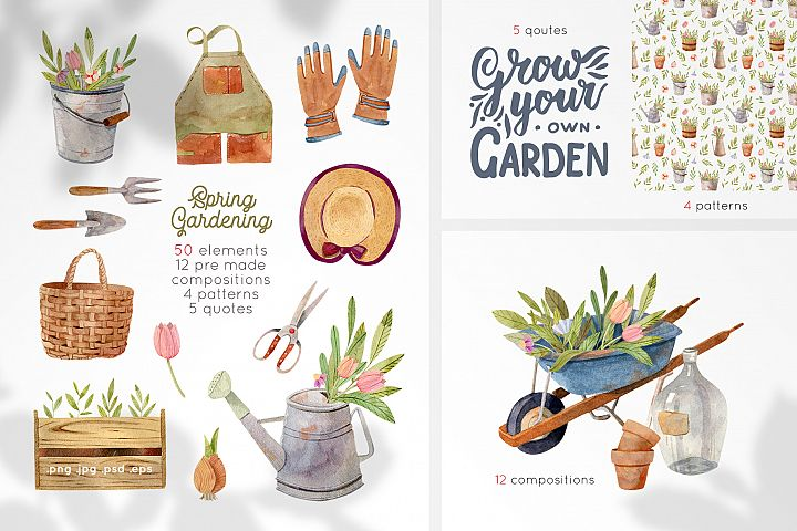 Gardening Tools Clipart