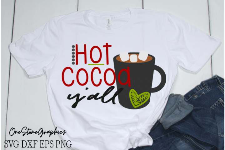 Christmas svg,christmas svgs,hot cocoa yall svg,hot cocoa