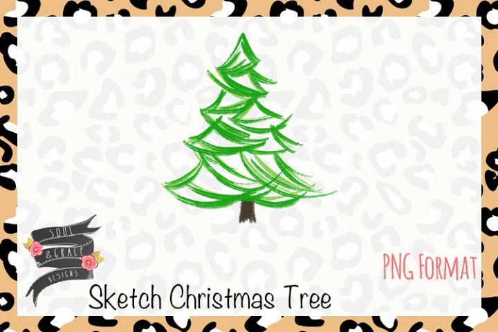 Sketch Christmas Tree