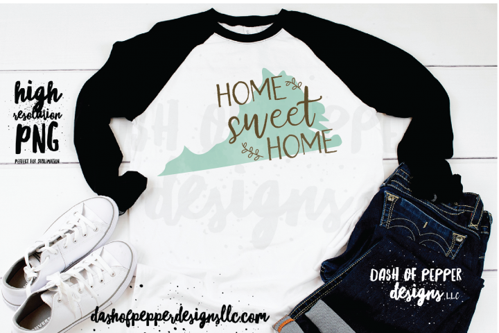 Virginia - A Home Sweet Home PNG