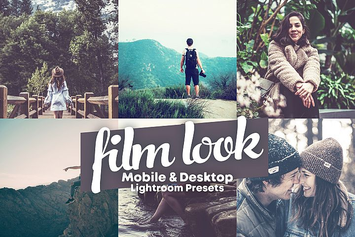 Film Look - Mobile and Desktop Lightroom Presets