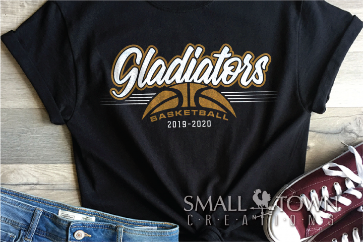Gladiator, Basketball, Sport, Design, PRINT, CUT, DESIGN