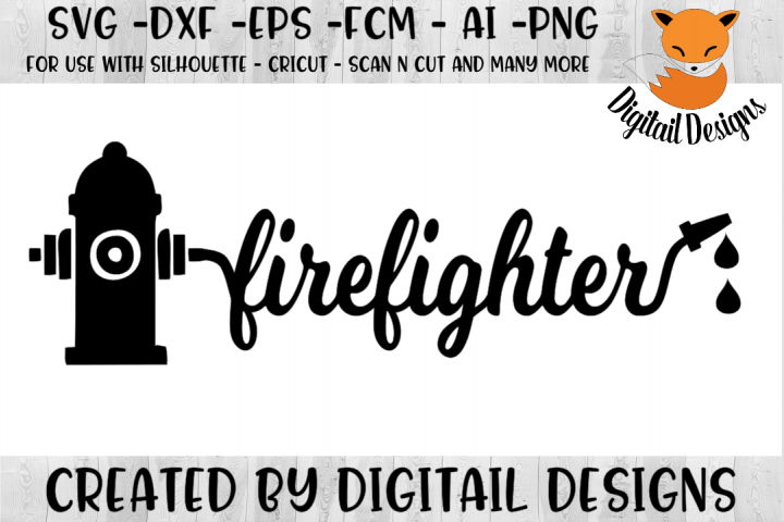 Firefighter SVG