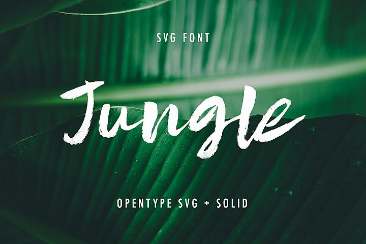 Jungle SVG and Solid