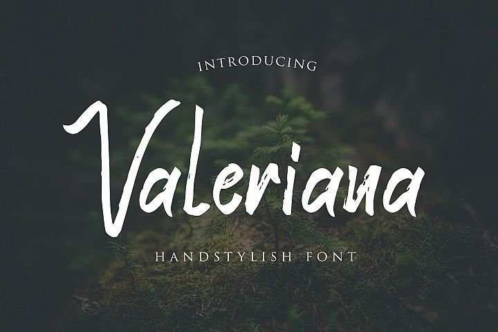 Valeriana Handstylish Font