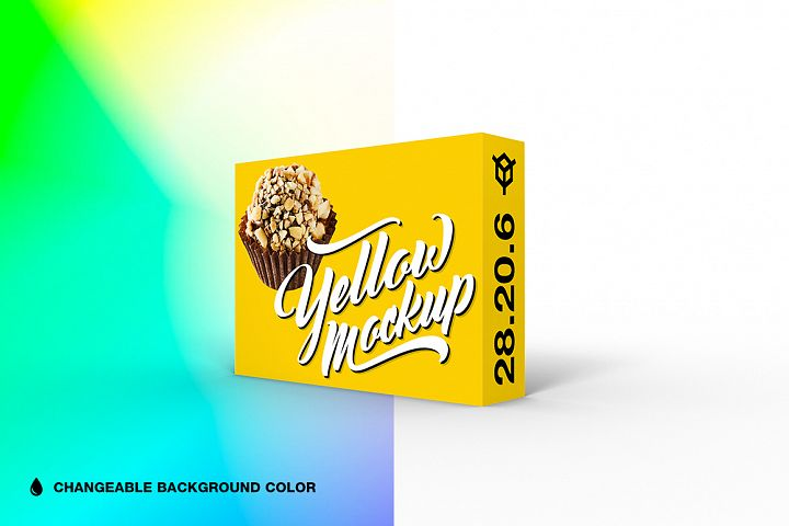 28.20.6 Simple 3D Box Mockup PSD
