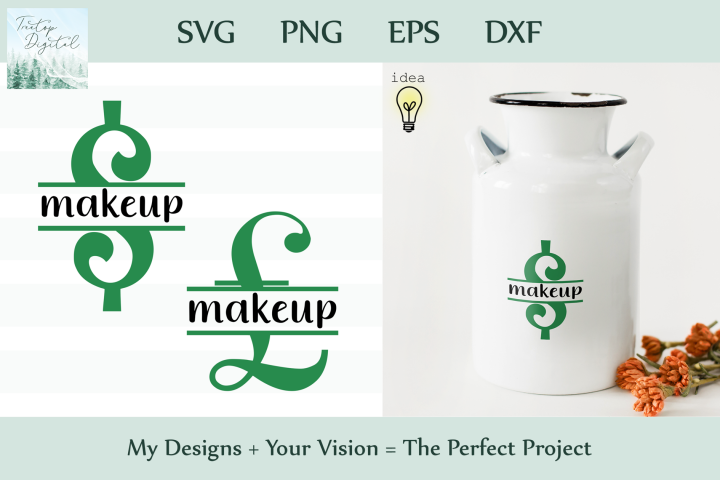 Saving for Makeup, Savings Series, SVG