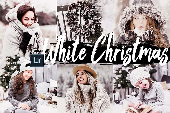 05 White Christmas Desktop Lightroom Presets and ACR presets