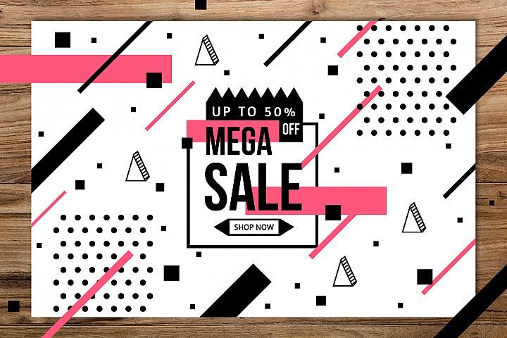 Memphis mega sale background