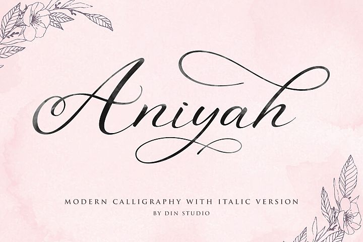 Aniyah Script - Beautiful Calligraphy
