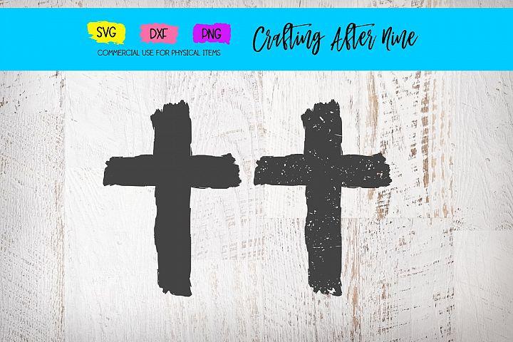 Grunge Cross SVG, Distressed Cross SVG, Christian Svg