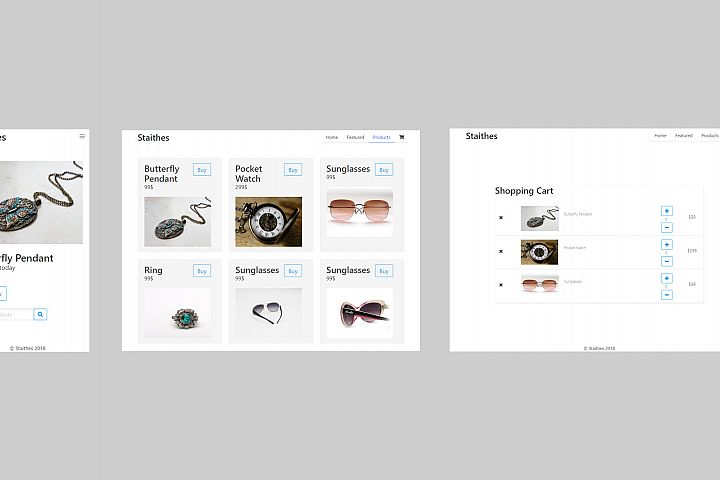 Staithes HTML5 E-Commerce Template