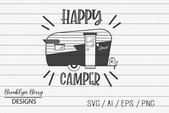 Happy Camper - Camping SVG