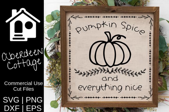Pumpkin Spice 2 SVG