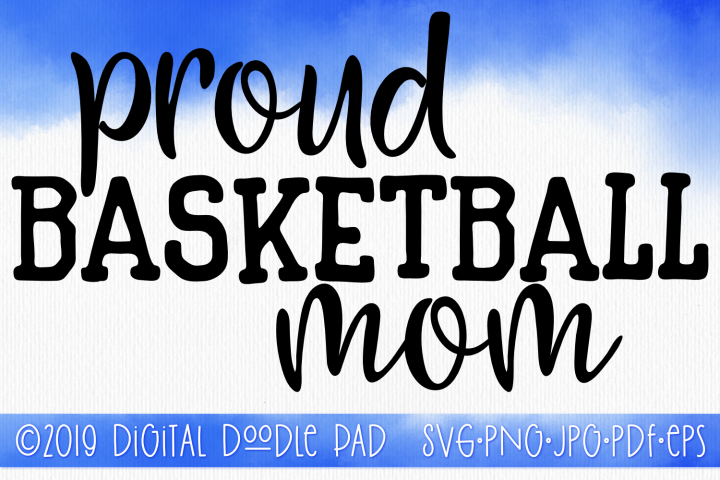 Basketball Mom SVG, Sports SVG