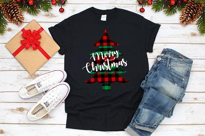 Buffalo Plaid Christmas Svg. Buffalo ChristmasTrees