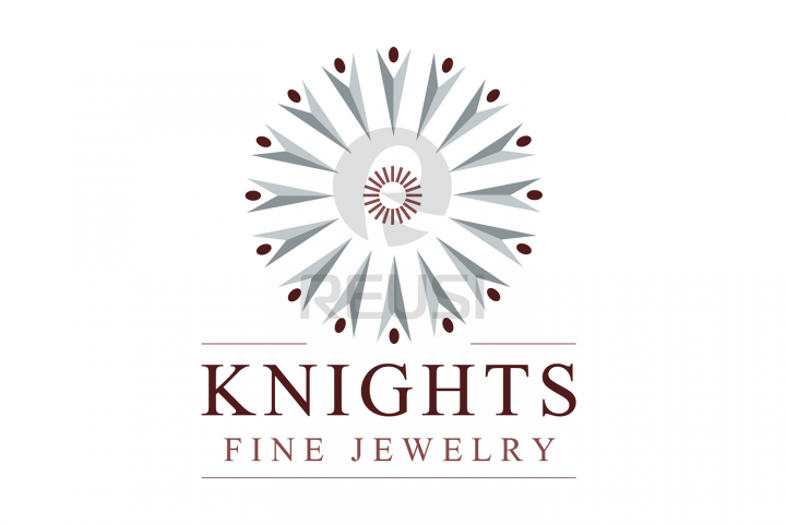 Knights Fine Jewelry Logo Template