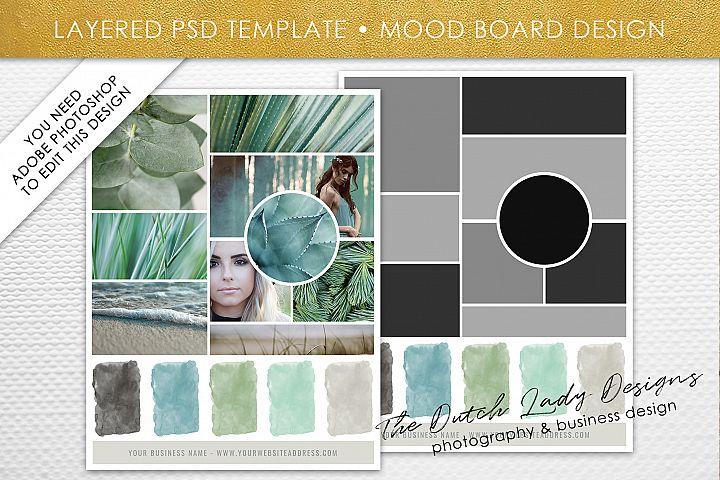PSD Mood & Vision Board Template #6