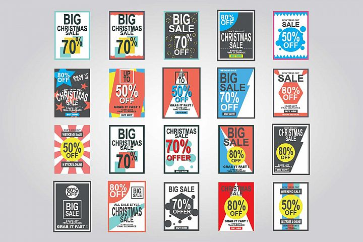 Special Discount template for sale banner poster flyer shop online store