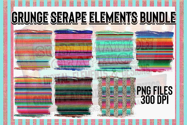 Serape Background Elements with Bonus Files