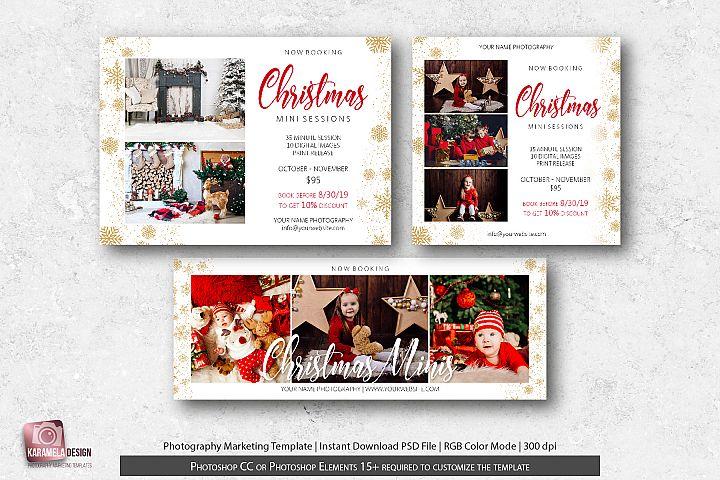 Christmas Mini Sessions Marketing Bundle