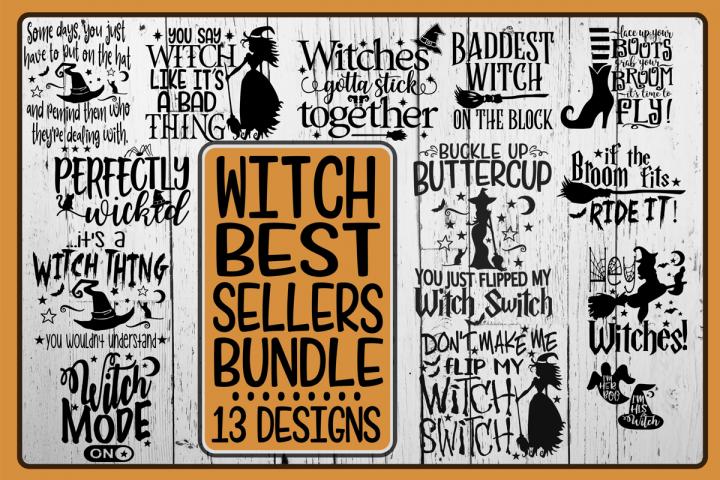Witch- Best Sellers Bundle -Bundle - 13 Designs