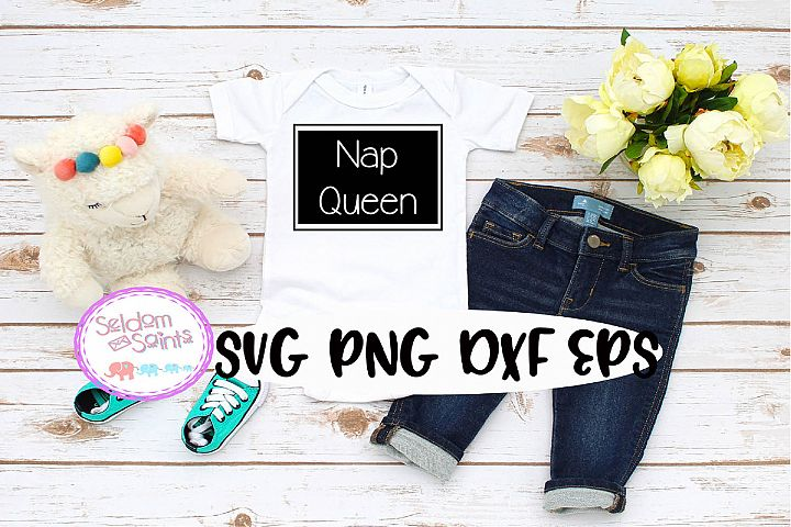 Nap Queen SVG PNG EPS DXF