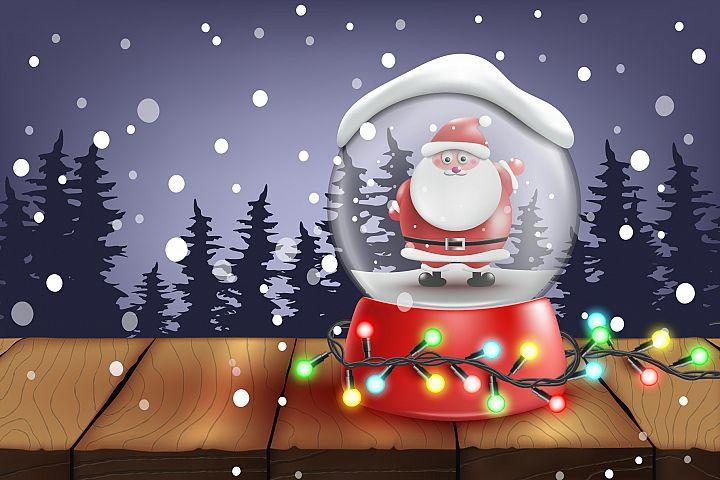 Snow Ball.Santa
