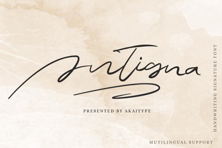 Antigna Signature
