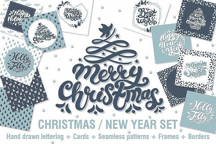 Merry Christmas / Happy New Year Set
