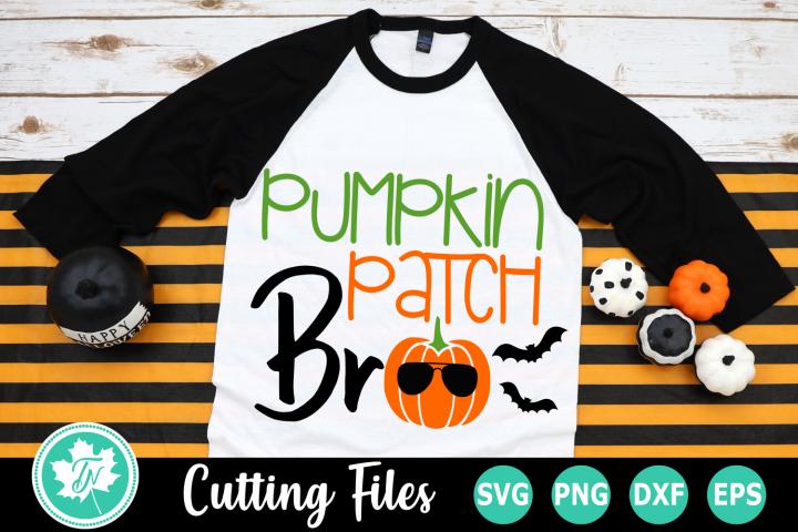 Pumpkin Patch Bro - A Fall SVG Cut File