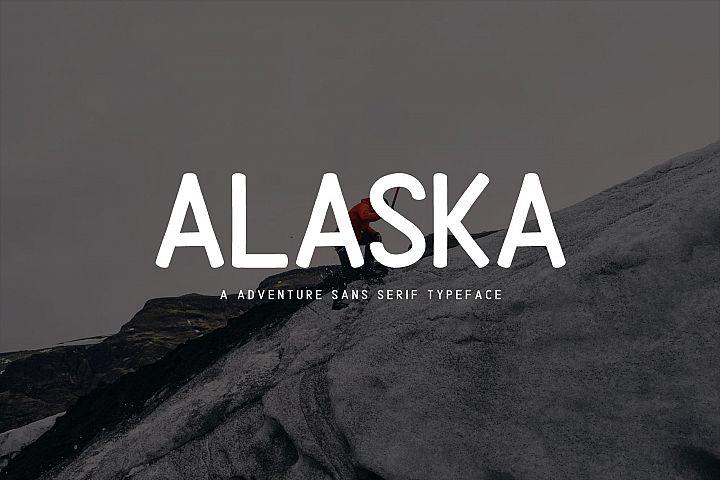 Alaska Typeface Font