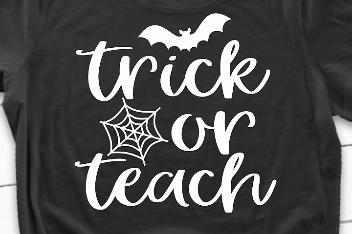 Trick or Teach SVG, DXF, PNG, EPS