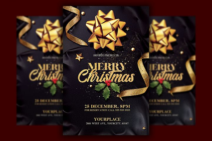 Christmas Flyer Invitation