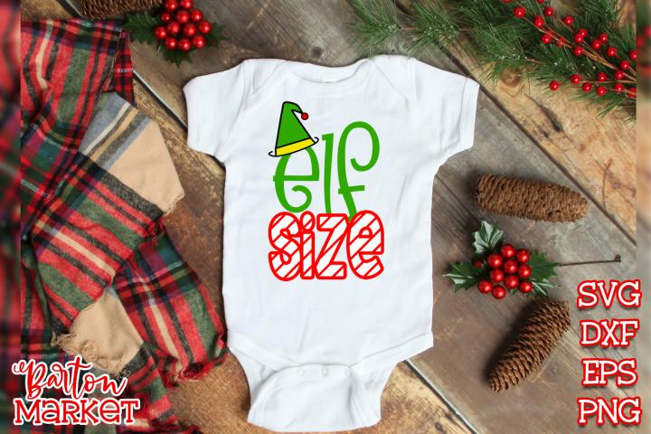 Elf Size SVG DXF EPS PNG