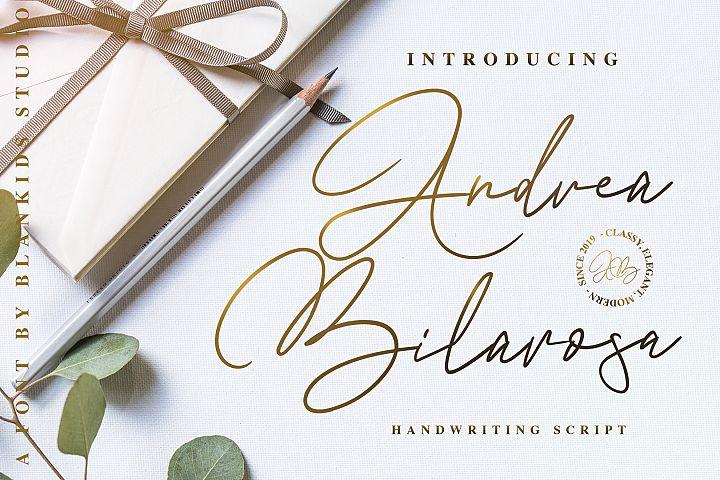 Andrea Belarosa - Beauty Font
