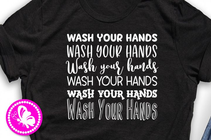 Wash your hands Quarantine svg Social distancing Stay home